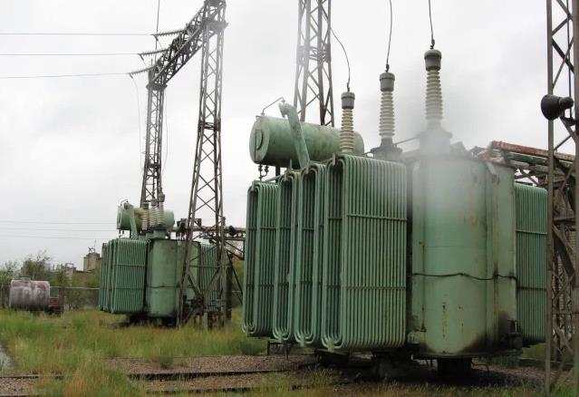 Внешний вид трансформатора ТРДН-40000/110